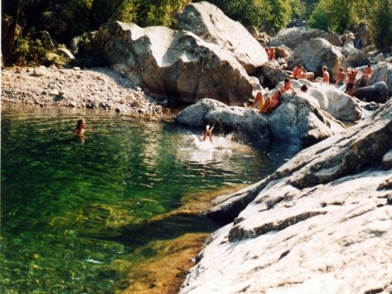 Haute-Corse camping vert à vendre